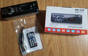 New Car Stereo – Bluetooth, SD, USB, Aux, Charger 60w x 4