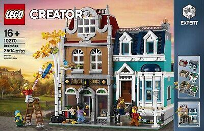 New LEGO Creator Expert 10270 Modular Bookshop 2504 Pcs Age 16+  Town House