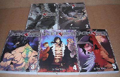 Jack the Ripper: Hell Blade Vol. 1,2,3,4,5 Manga Graphic Novels Set English
