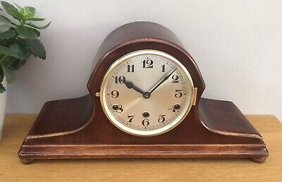 An Art Deco German Westminster Chimes Mantel Clock in Full Working Order c.1920s