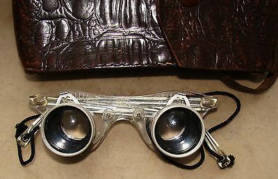 Vintage Brille -  Ferngläser  Dr. Wohler Saar Sportscope Binocular