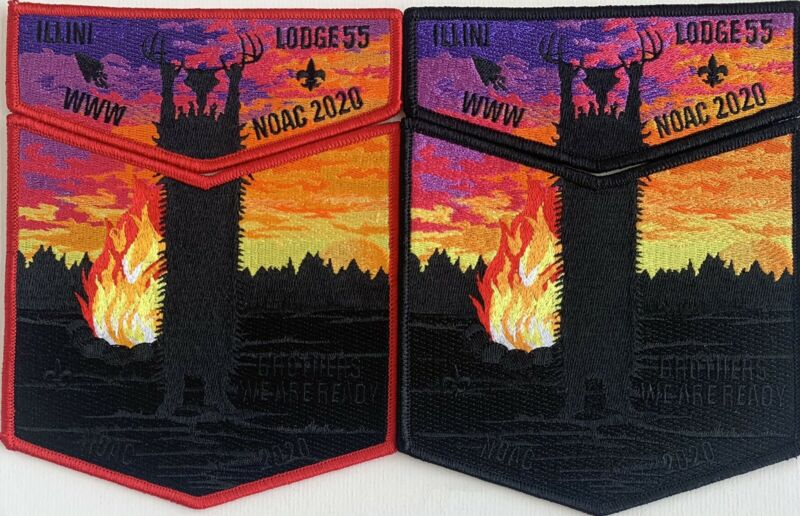 NOAC 2020 Illini Lodge 55 set