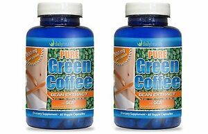 Green Coffee Bean Extract Pure 800mg  w/ GCA Chlorogenic Acid SVETOL Fat Burner