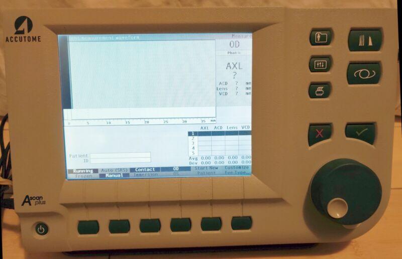 Accutome A-scan plus Biometer