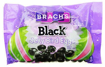 Brach's ~ Black Jelly Beans ~ Jelly Bird Eggs ~ 8oz Bag Brachs Jelly Beans