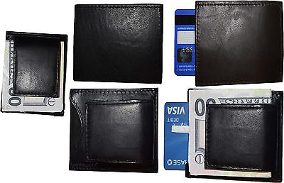 Lot of 5 New Lambskin Leather money Clip, Magnetic money clip. leather case BNWT ()