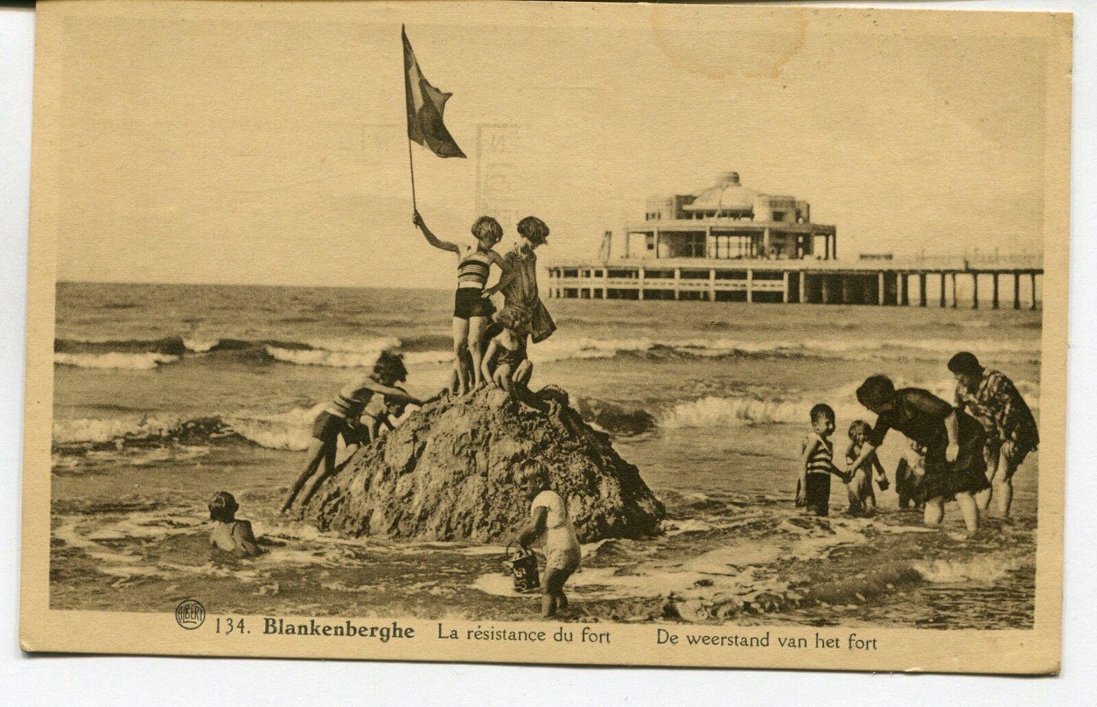 CPA - Carte Postale - Belgique - Blankenberge - La Résistance du Fort (SV6351)