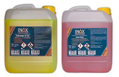 5 Liter Insect Clean + 5 Liter Multireiniger All Star - Reinigung Von Klimaanlagen Filter