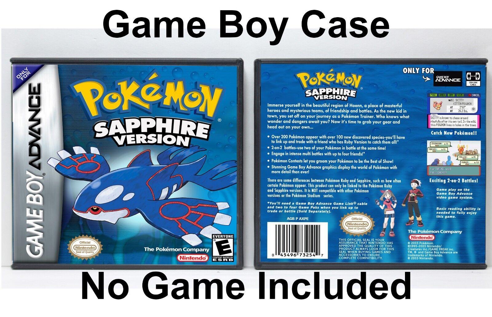 pokemon sapphire version - HD1600×1032