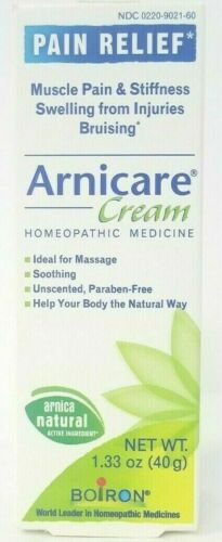 Arnicare Pain Relief Cream,Homepathic Medicine 1.33 oz - Exp 09/2020