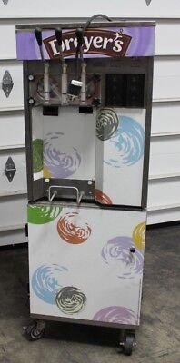 Commercial 2 Flavor Ice Cream Freezer Soft Serve Machine