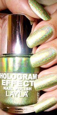 Layla Cosmetics Hologram Effect Nagellack - GOLD IDOL - Layla Hologram Effect