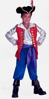 The Wiggles Deluxe Captain Feathersword Costume Size 3-4 T Toddler New 2003