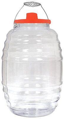 - Vitrolero Plastic Aguas Frescas 5 Gallon Water Container For Party