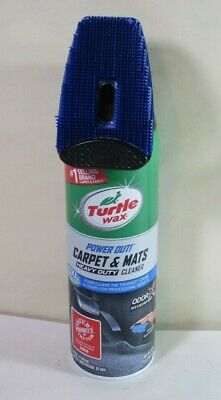 Turtle Wax T244R1 Power Out  Automotive Carpet and Mats Heavy-Duty Cleaner