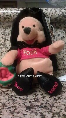 Disneyland Winnie the Pooh Dressed up for Halloween 2000 nwt Retired
