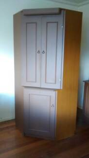 4 Piece, Buffet Table Cabinets Book Shelves Wall Unit. MAKE OFFER Wantirna South Knox Area Preview