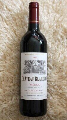 Wein Rotwein Chateau Blaignan 2004 Grand vie de Bordeaux Medoc 750ml französisch