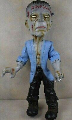 "Vintage 18"" Rubber Frankenstein Monster, posable: Halloween Decoration"