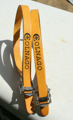 Details about  /NOS Vintage Bierreci Leather Toe Straps