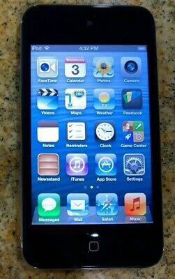 Apple iPod Touch 4th Generation Black 16 GB iPod MP3 Gen 4 Original Apple IPod Original Ipod Touch