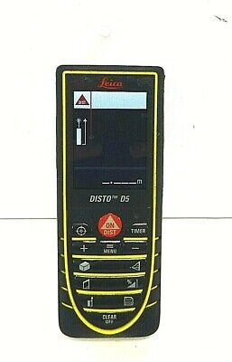 Leica Disto D5 Laser Distance Meter - As Is Free Shipping.