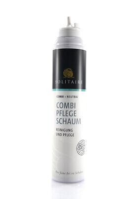 Solitaire Combi Pflegeschaum Reinigung und Pflege für Stoffe und Leder 200ml z89