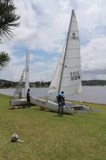 Nacra 5.0 ready to sail