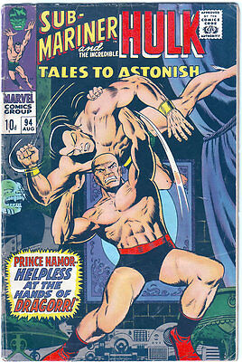 Tales To Astonish #94 (1967) FN-