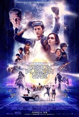 Ready Player One  2018  11 X17  Authentic Movie Collectors Mini Poster
