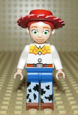 Lego JESSIE Toy Story cowgirl minifigure DISNEY from  7597 - Cowgirl From Toy Story