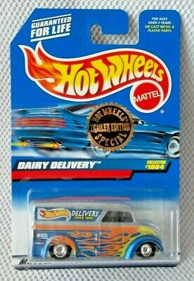 DAIRY DELIVERY (1:64)  Hot Wheels 1998 Collector #1004 (Trailer Edition Special)
