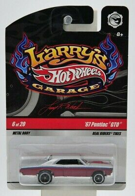 "Hot Wheels 2008 Larry's Garage '67 Pontiac GTO ""NIP"" 6 of 20"