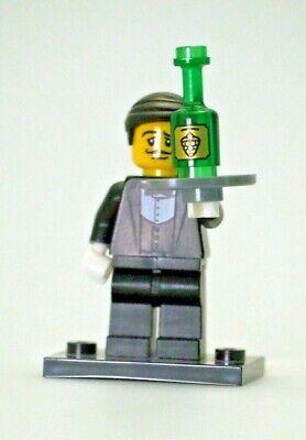 Lego Minifigure Series 9 Waiter  - Loose, Complete, Authentic LEGO