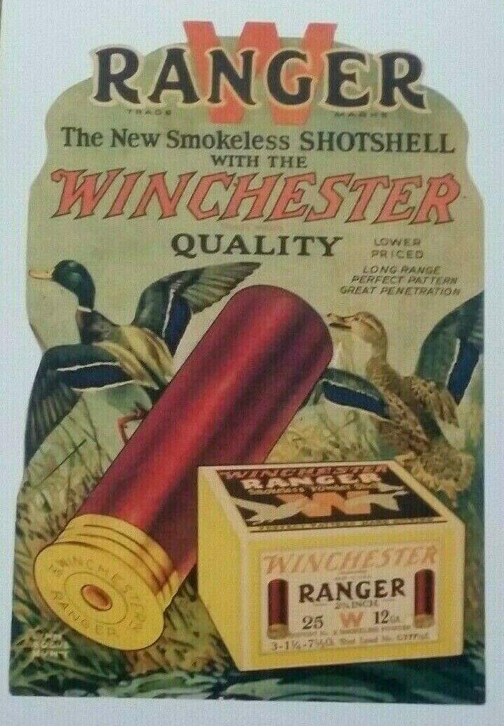 Winchester Shotgun Shells Poster - Duck Hunting - Firearms - Guns - Rifle - $7.99