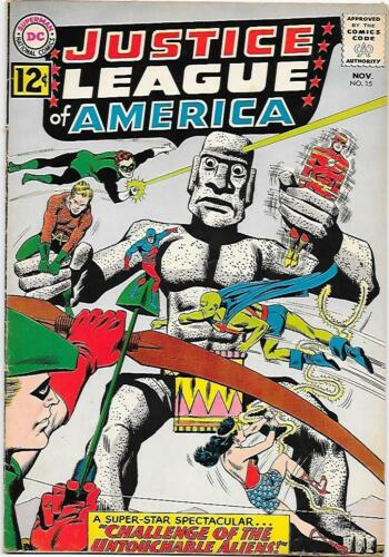 Justice League of America #15, DC 1962 Fox/Sekowsky   VG+