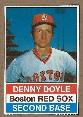 1976 Hostess  107 Denny Doyle  Red Sox       20   Rebate W 10 Item Order