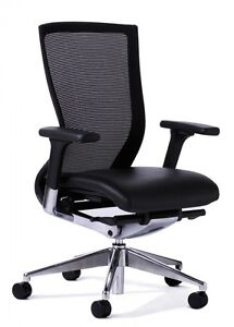 High Mesh Back Black Office Ergonomic Chair Roselands Canterbury Area Preview