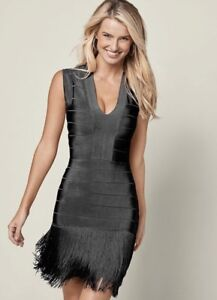 NEW Black Fringe Dress *! From Venus