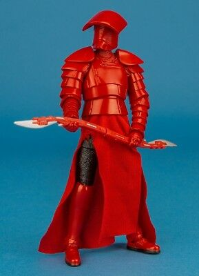 (Star Wars 6 Inch Black Series: Elite Praetorian Guard (w/ Double Blade) - LOOSE )