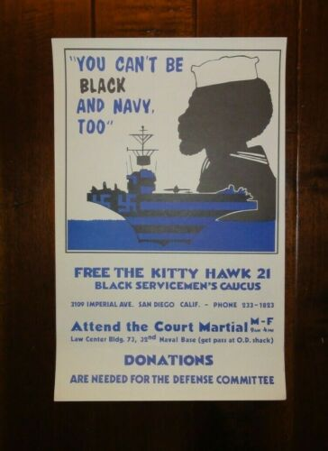 "1972 Original Civil Rights & Vietnam Poster, ""You Can"