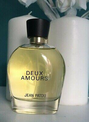 Deux Amours Heritage by Jean Patou 100ml eau de parfum no box used