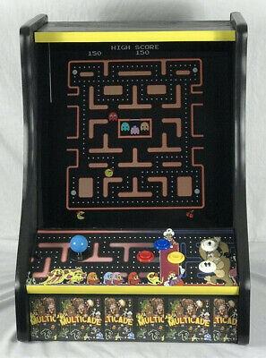 ARCADE CLASSIC MS PACMAN, GALAGA, DONKEY KONG,NEW MULTICADE 60   GAMES TABLETOP