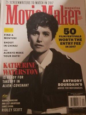 Movie Maker Magazine Spring 2017 Katherine Waterston  Free Shipping Mc