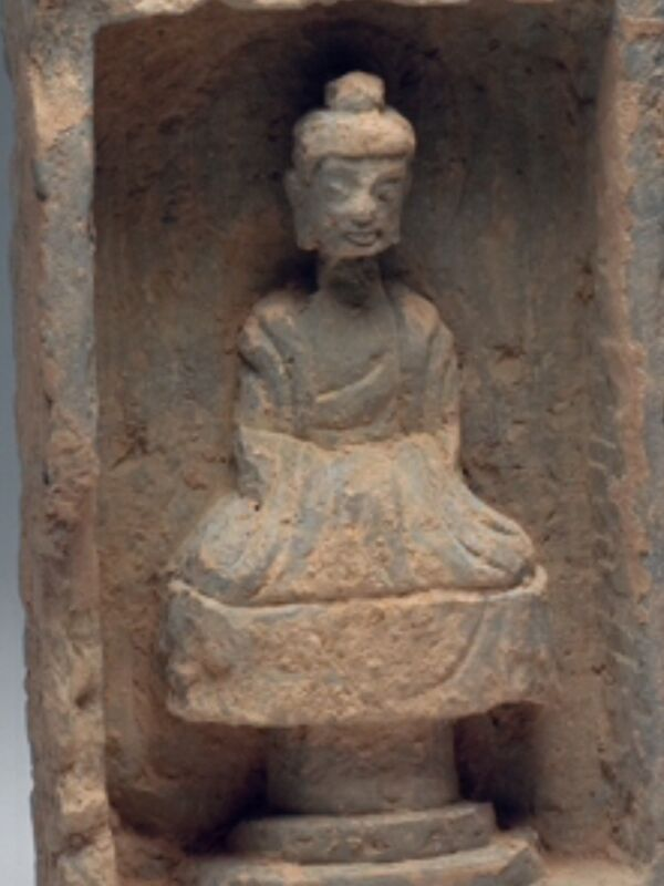 SEATED BUDDHA IN NICHE