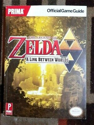 The Legend Of Zelda A Link Between Worlds Prima Strategy Guide + Mobile Version