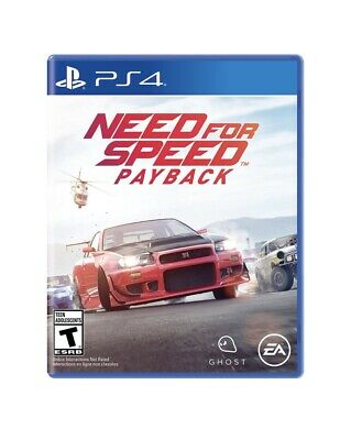 NEED FOR SPEED PAYBACK For PS4 Best Selling Action Driving Racing VDO Game (Best Race Game Ps4)