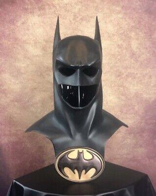 """Batman Forever Val Kilmer Dark Knight  Inspired Cowl Mask Cosplay 23.5"""""""