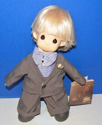Precious Moments Jonny Wedding The Groom Doll with Stand