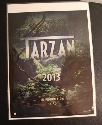 Tarzan 2013 in Production in 3D Poster